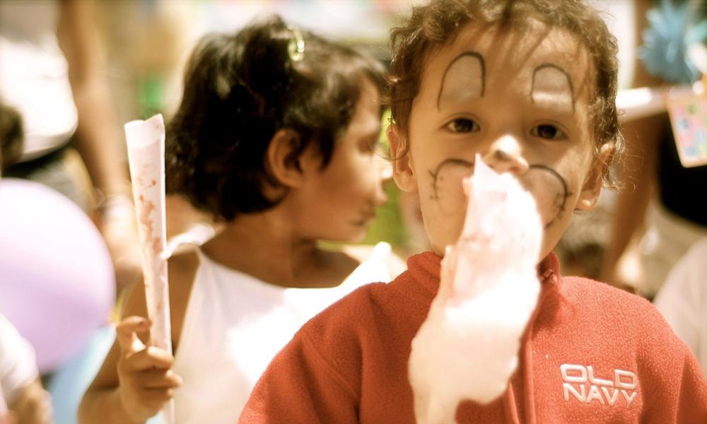 Crianças órfãs