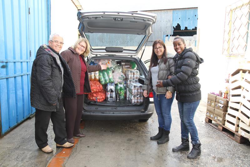 donativo de alimentos remar
