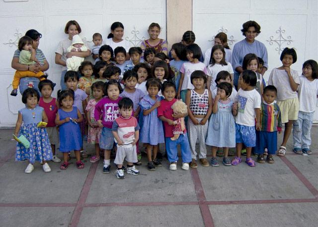Centros de acolhimento para crianças em Guatemala