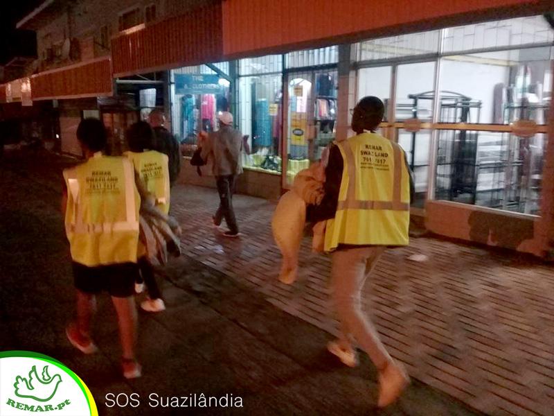 SOS ruas de Suazilandia
