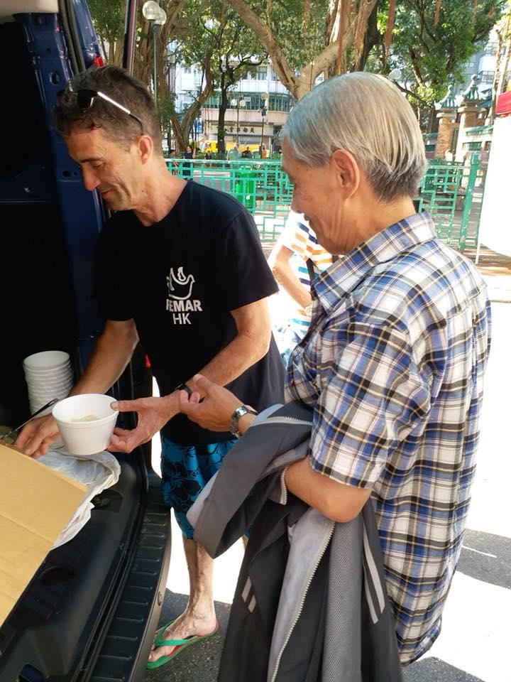 distribuição de alimentos en hong kong
