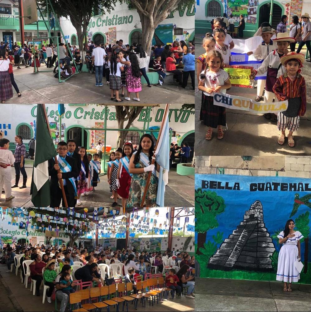 Crianças nos colégios da Remar em Guatemala