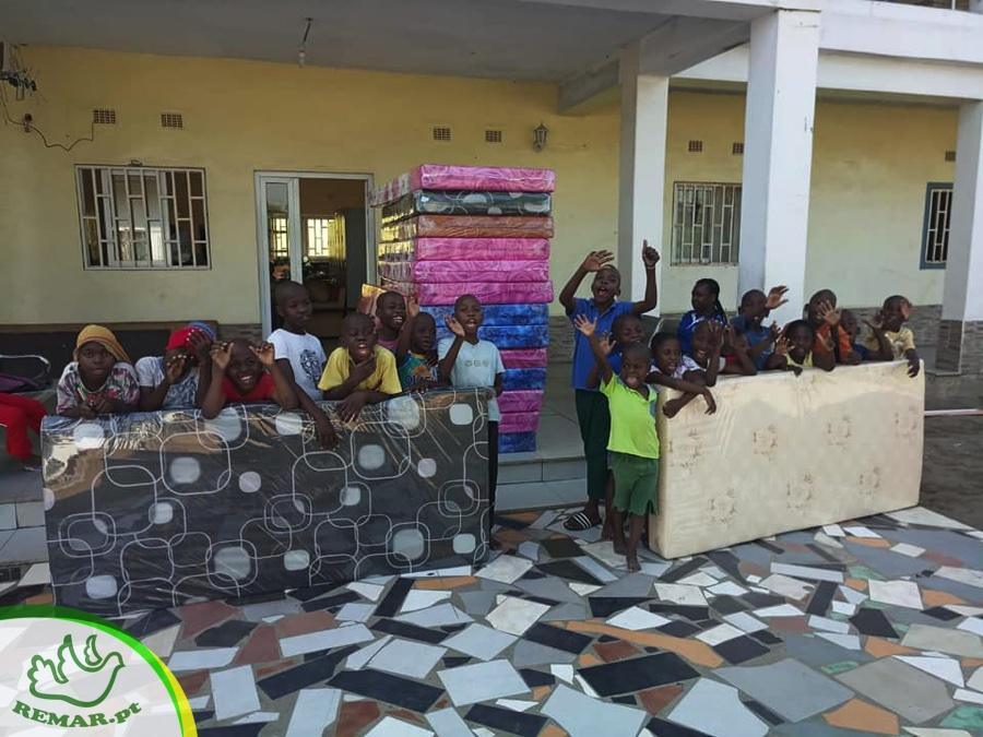 donativo solidário de colchões