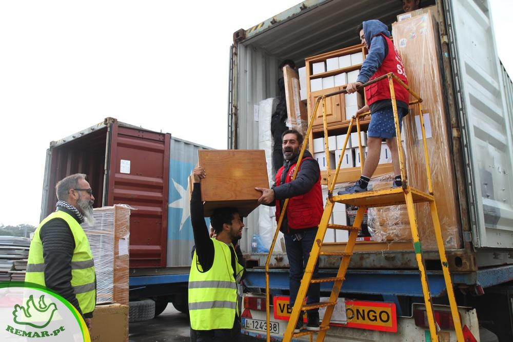 Carregamento Contentor Africa