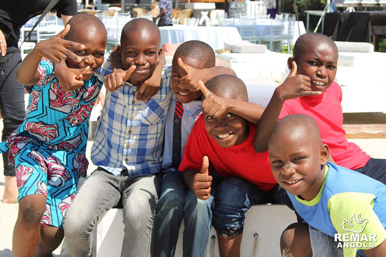 Crianças do centros da Remar em Angola
