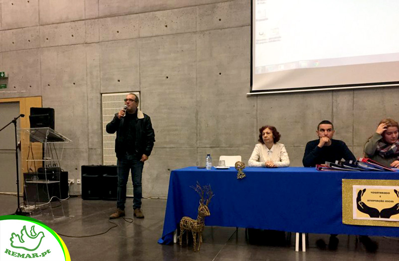 Vitor Pinto na Conferencia de voluntariado