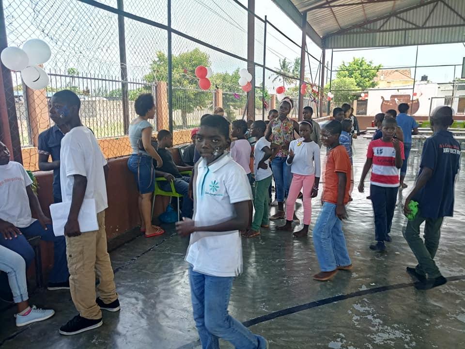 Remar Moçambique festa para crianças