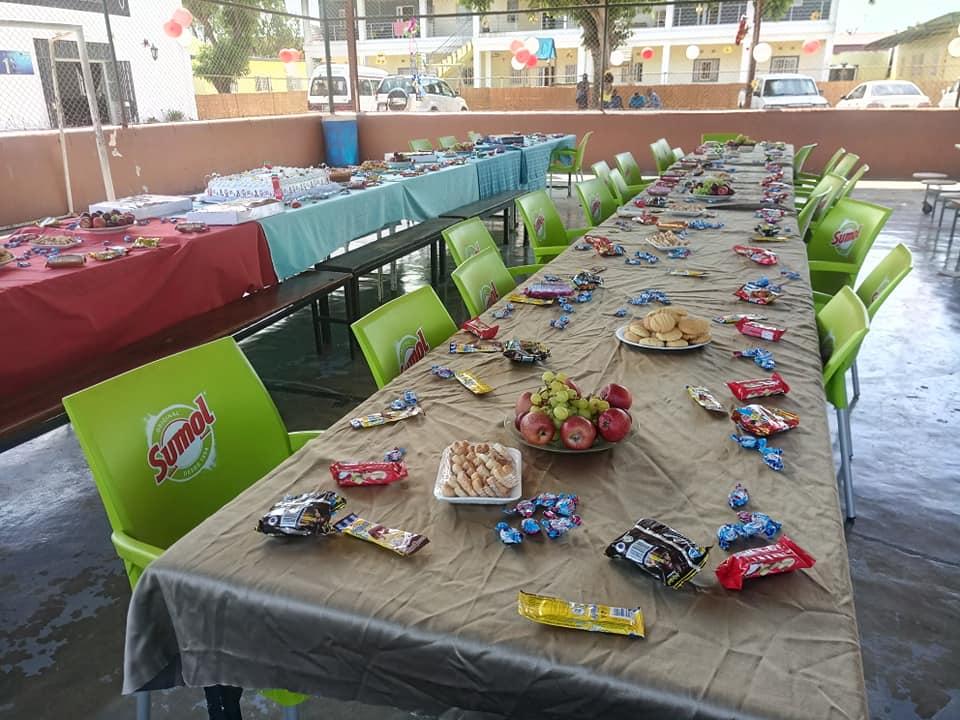 Moçambique festa para crianças