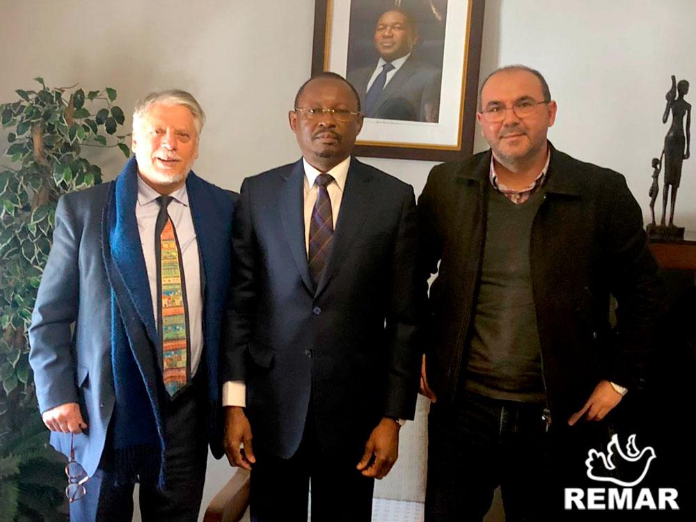 Reunião com o presidente da Remar