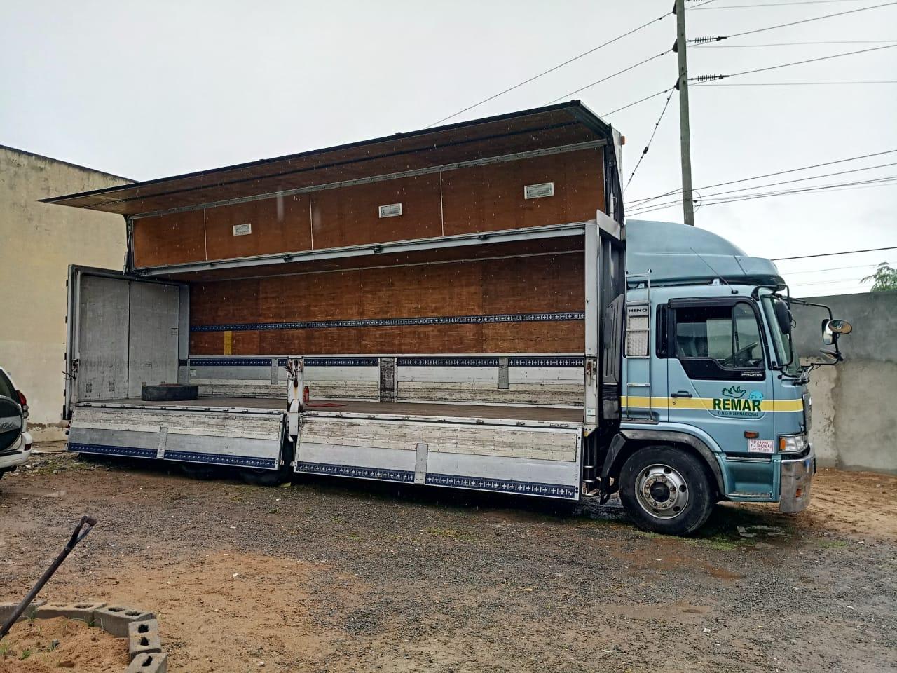 Camião desde Espanha