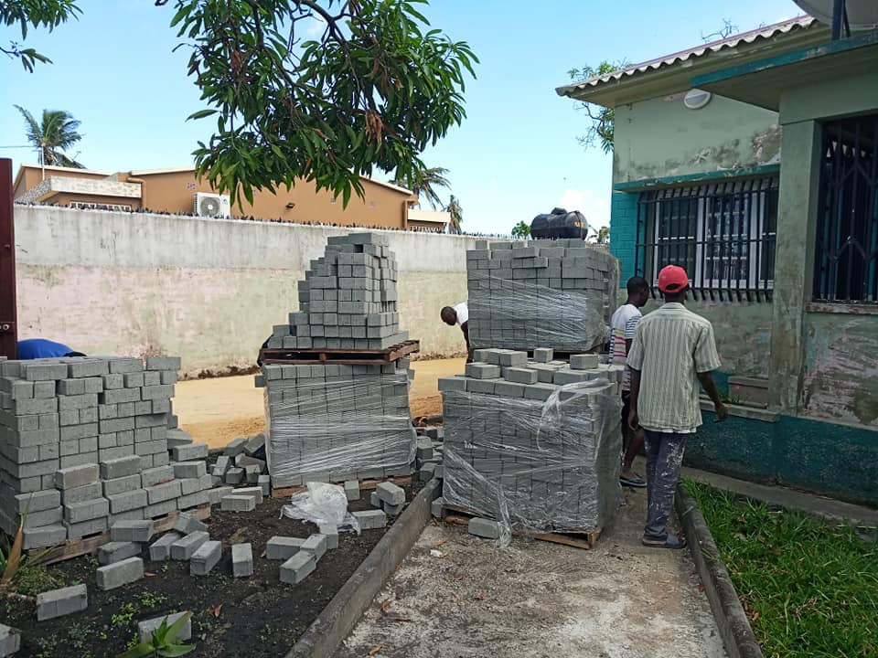 Construção de Centros na Beira, Moçambique