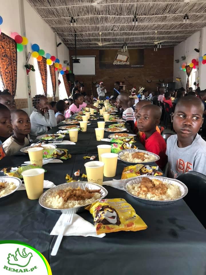 Remar Moçambique refeições gratis