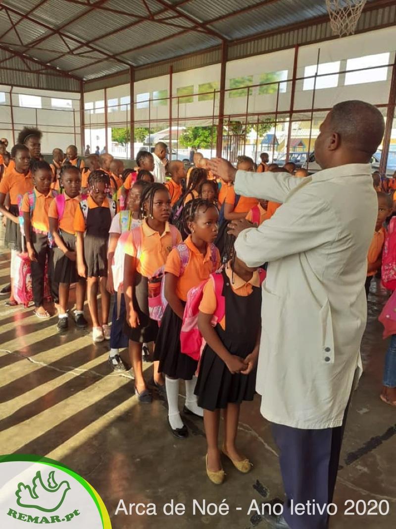 Inicio do Ano Letivo Escola Remar em Moçambique