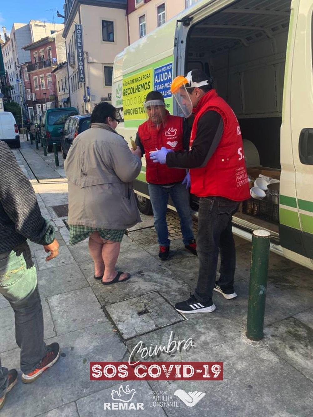 ajuda aos sem-abrigo remar