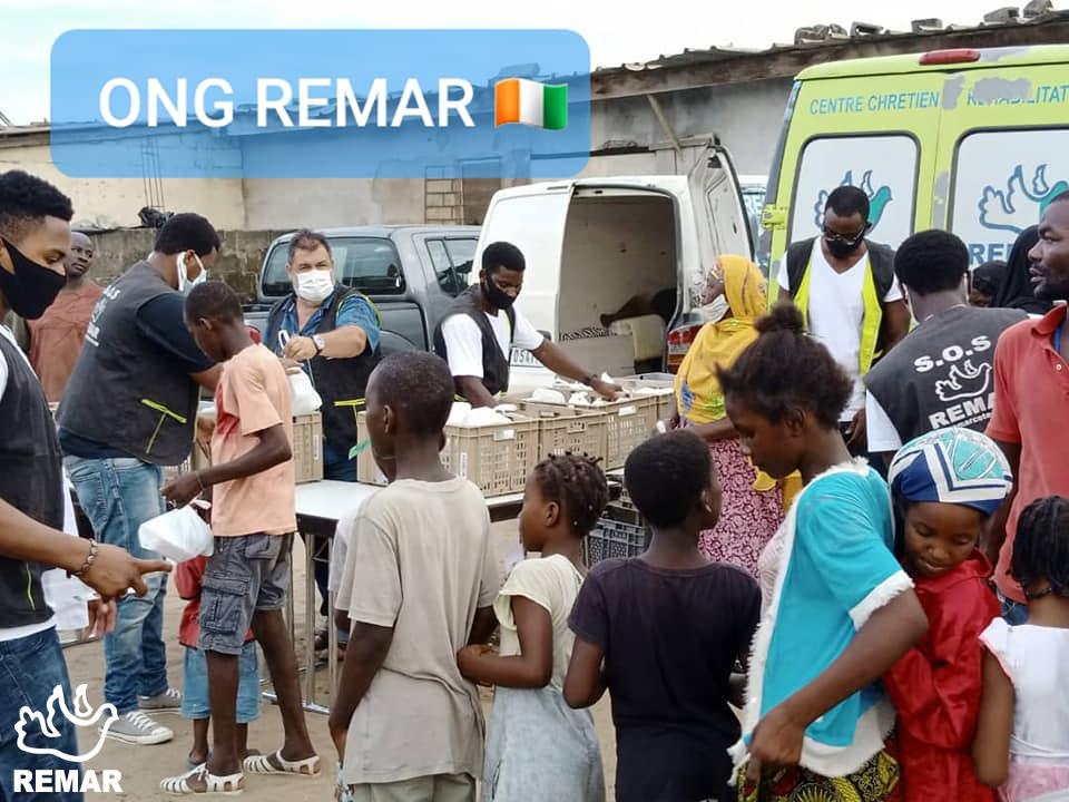 Apoio de rua SOS Africa - Coronavirus
