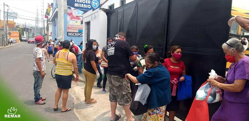 apoio urgente da remar nesta quarentena em Guatemala
