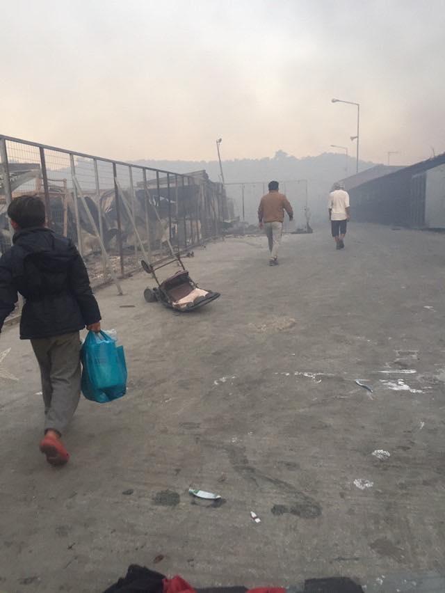 remar sos e os refugiados em Moria, Lesbos